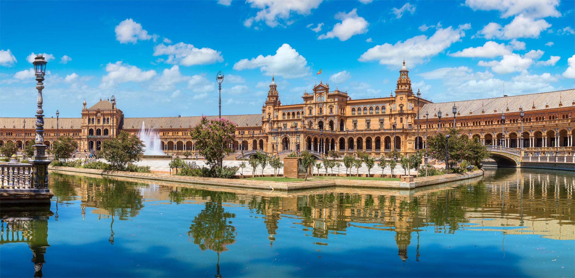 Andalusia route, Sevilla, Plaza de España