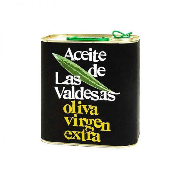 AOVE LAS VALDESAS MONOVARIETAL ARBEQUINA LATA 2,5L