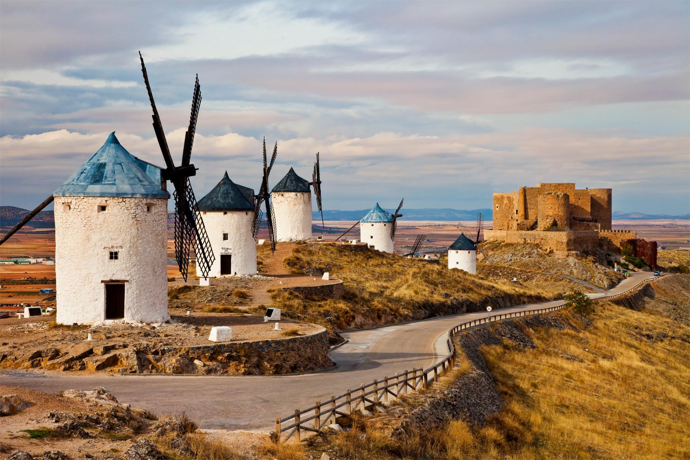 Don Quixote route, Molinos de Consuegra
