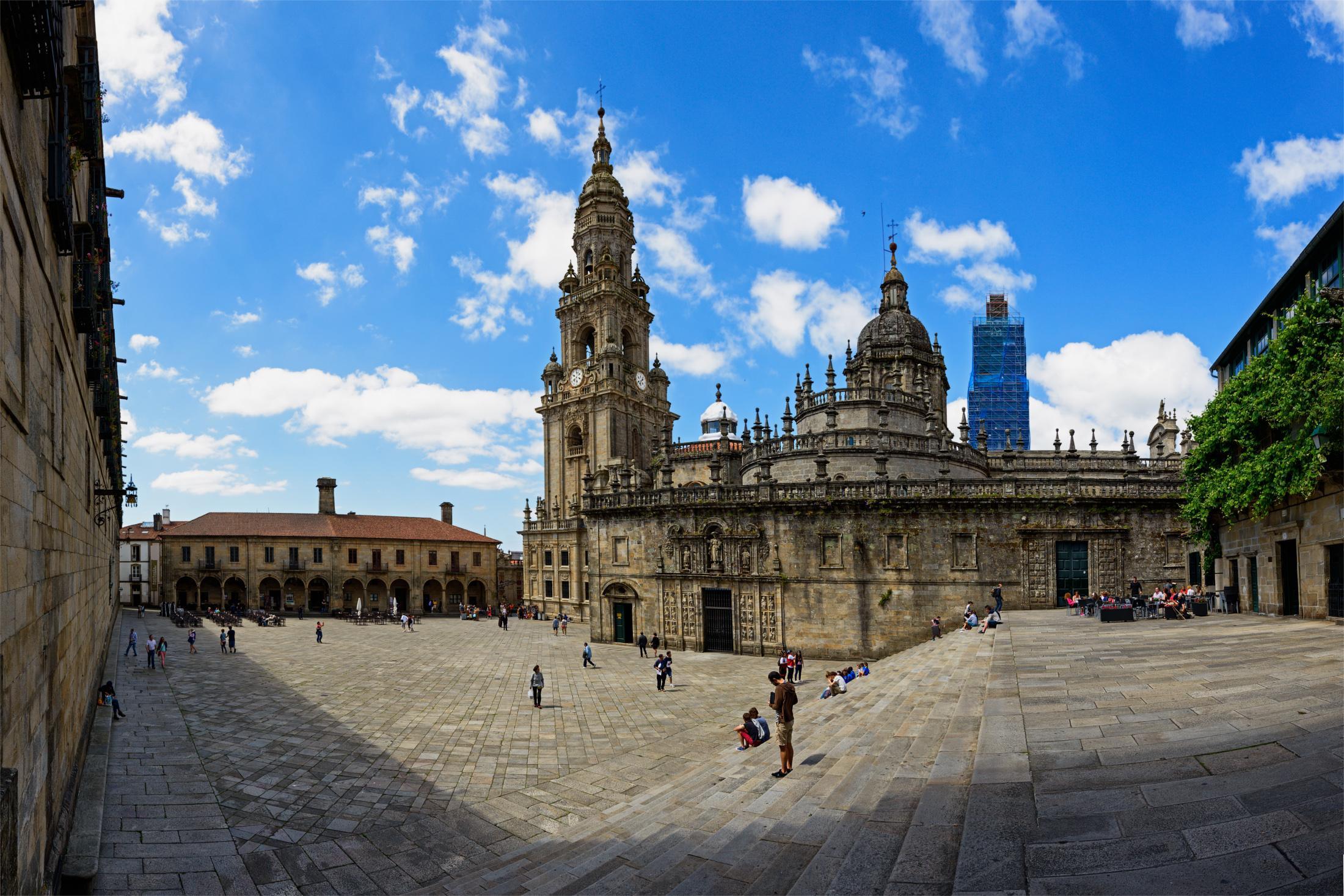 Galicia, Catedral de Santiago, St. James Way, Camino de Santiago, Routes