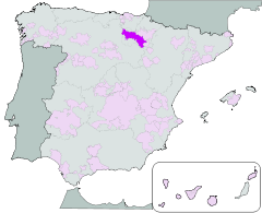 Map of Rioja wines