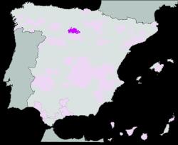 Map of Arlanza