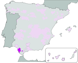 Map Jerez Sherry
