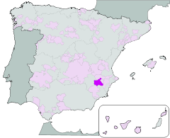 Jumilla Map