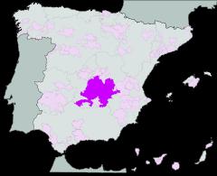 Mapa de La Mancha