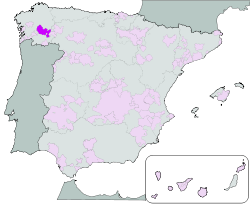 Map of Ribeira Sacra