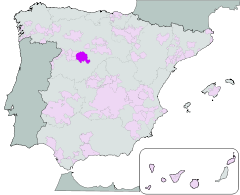 Map of Rueda